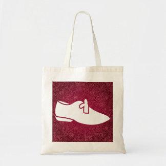Female Travels Symbol Budget Tote Bag