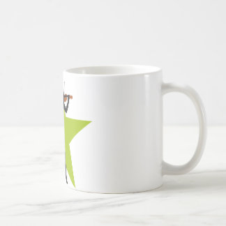 female violin more player coffee mug