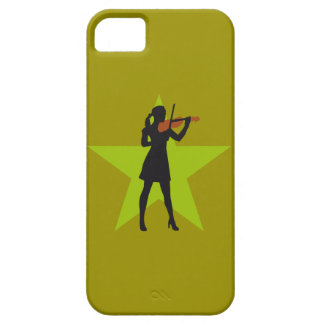 female violin more player iPhone SE/5/5s case