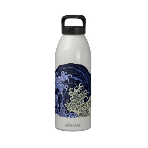 Female Waves. Water Bottles