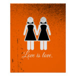 FEMALE WEDDING LOVE -.png Poster