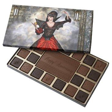 Halloween Themed Female Wizard Assorted Chocolates