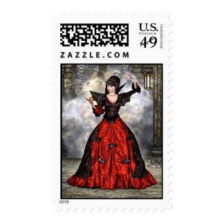 Female Wizard Postage