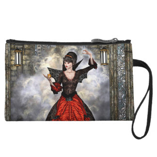 Female Wizard Wristlet Wallet