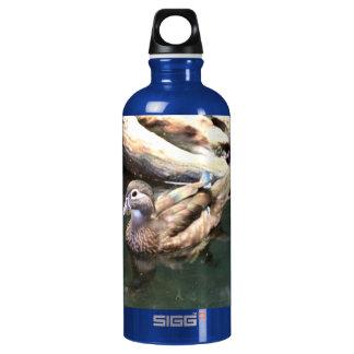 Female Wood Duck Aluminum Water Bottle