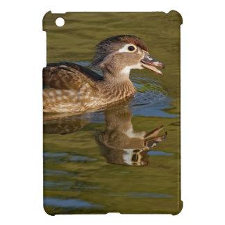Female Wood Duck Calling iPad Mini Cover