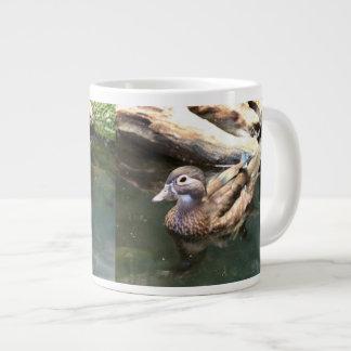 Female Wood Duck Large Coffee Mug