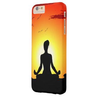 Female Yoga Meditating Sunshine Barely There iPhone 6 Plus Case
