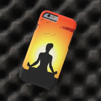 Female Yoga  Meditation Sunshine Tough iPhone 6 Case