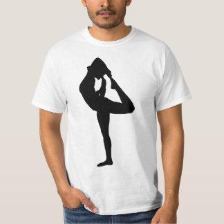 Female Yoga Pose Silhouette 3 T-Shirt
