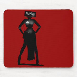 Fembot Mouse Pad