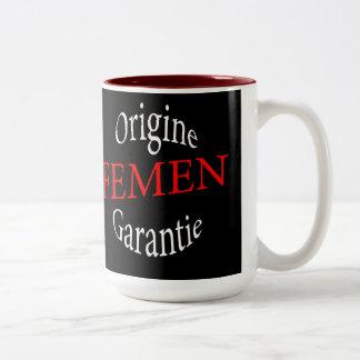 femen taza de café