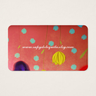 Femenine Woman Business Card