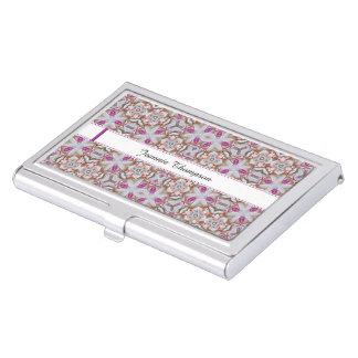 Femenino-Como tenedor modelado de la tarjeta de Cajas De Tarjetas De Visita