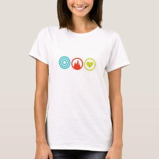 Femenino de la camiseta