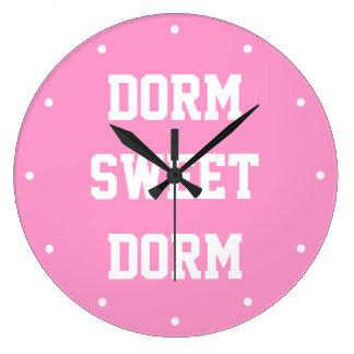 Femenino original del ~ dulce del dormitorio del reloj redondo grande