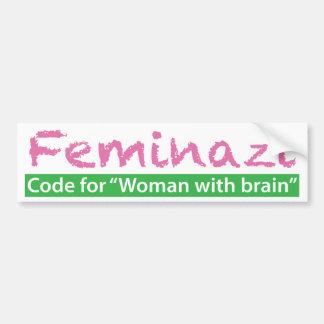 Feminazi Bumper Sticker