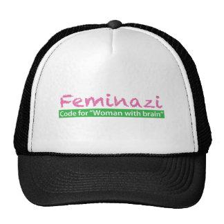 Feminazi Mesh Hats