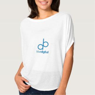 Feminine blouse Digital Blue Tee Shirt