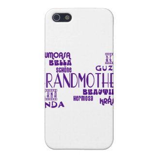 Feminine Chic : Beautiful Grandmothers & Grandmas iPhone 5 Case