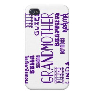 Feminine Chic : Beautiful Grandmothers & Grandmas iPhone 4/4S Cases