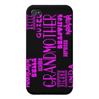Feminine Chic : Beautiful Grandmothers & Grandmas iPhone 4/4S Covers