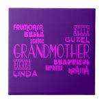 Feminine Chic : Beautiful Grandmothers & Grandmas Ceramic Tiles