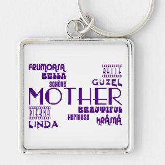 Feminine Chic & Stylish : Beautiful Mothers & Moms Key Chains