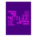 Feminine Chic & Stylish : Beautiful Mothers & Moms Post Cards