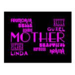 Feminine Chic & Stylish : Beautiful Mothers & Moms Post Card