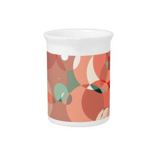 Feminine circles drink pitchers
