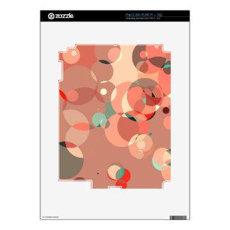 Feminine circles iPad 2 skin