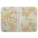 Feminine Fancy Modern Floral Personalized Cases For The Kindle