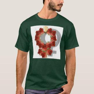 Feminine Feminists Symbol T-Shirt