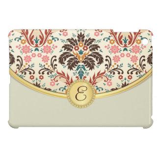 Feminine Floral Pattern Monogram Case For The iPad Mini