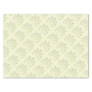 """Feminine Flower Swirls 15"""" X 20"""" Tissue Paper"""