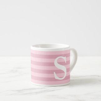 Feminine Girly Pink Pattern Espresso Cup