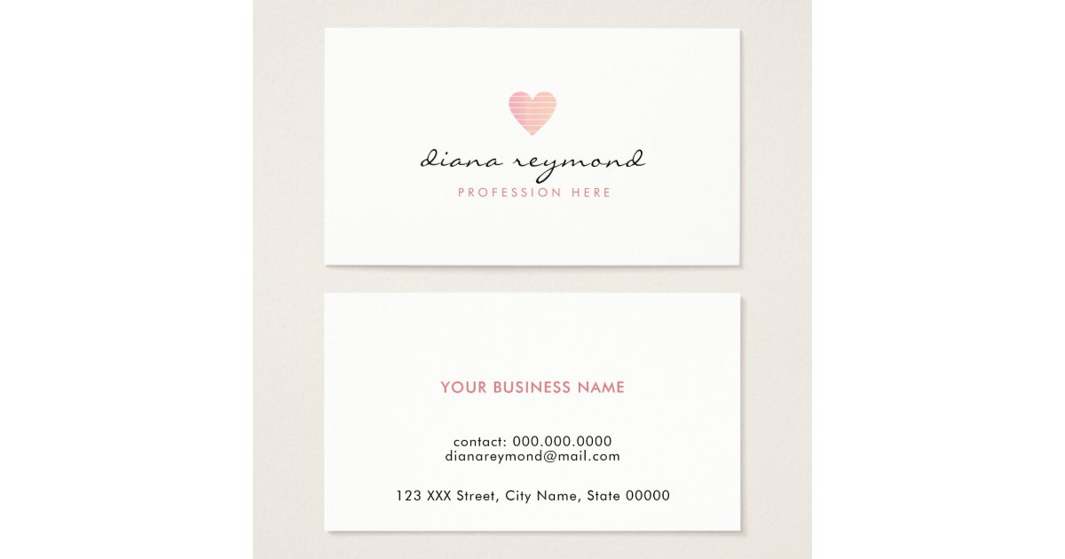 Women Business Cards & Templates | Zazzle