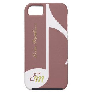 feminine musical note iPhone SE/5/5s case