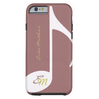 feminine musical note iPhone 6 case