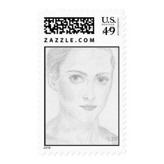 """""""Feminine Mystique"""" Stamp"""