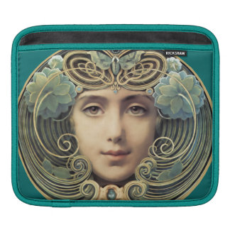 Feminine Nouveau Vintage Beauty Sleeve For iPads