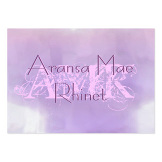 Feminine Pastel Purple Pink Cloud Large Cards