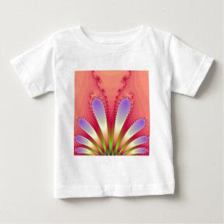 Feminine Pink Burst Fractal Design Gear T-shirt