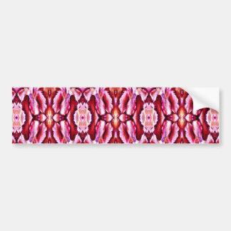 feminine pink lace car bumper sticker