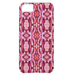 Feminine Pink Lace Pattern iPhone 5C Case
