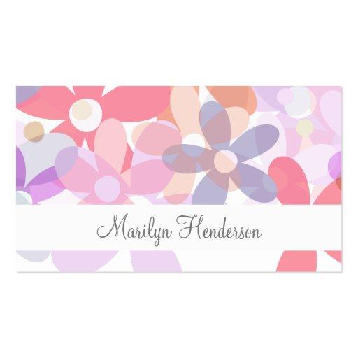 Feminine professional business cards zazzle for Feminine business cards
