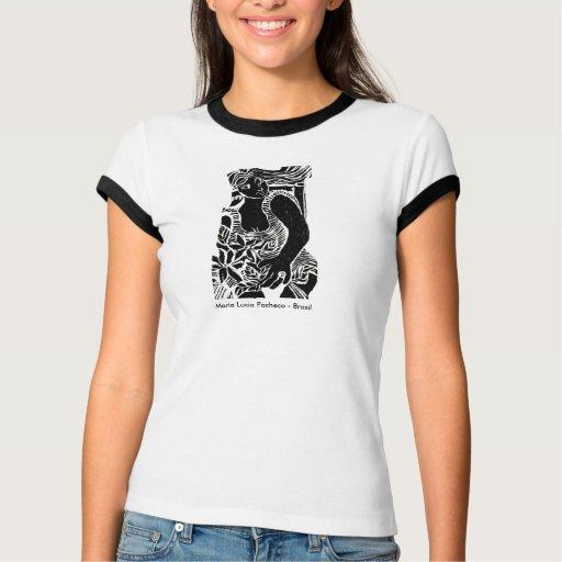 Feminine Ringer t-shirt