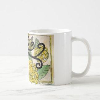 Feminine Silhouette Classic White Coffee Mug