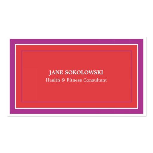 Feminine simple elegant business card zazzle for Feminine business cards